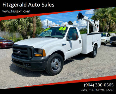 2006 Ford F-350 Super Duty for sale at Fitzgerald Auto Sales in Jacksonville FL