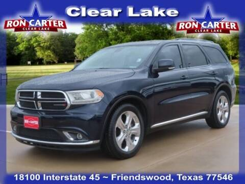 2014 Dodge Durango for sale at Ron Carter  Clear Lake Used Cars in Houston TX