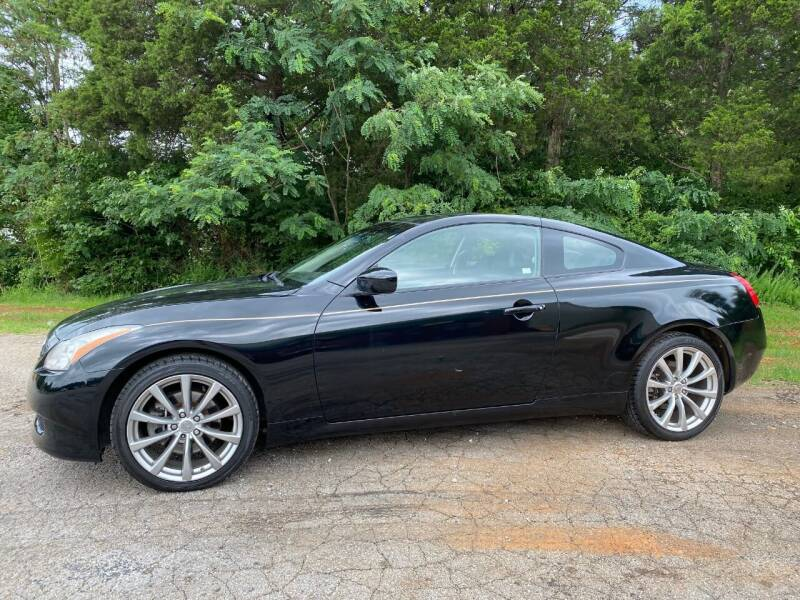2009 Infiniti G37 Coupe for sale at Tennessee Valley Wholesale Autos LLC in Huntsville AL