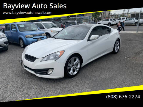 2010 Hyundai Genesis Coupe for sale at Bayview Auto Sales in Waipahu HI