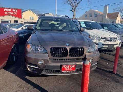 2011 BMW X5 for sale at Park Avenue Auto Lot Inc in Linden NJ