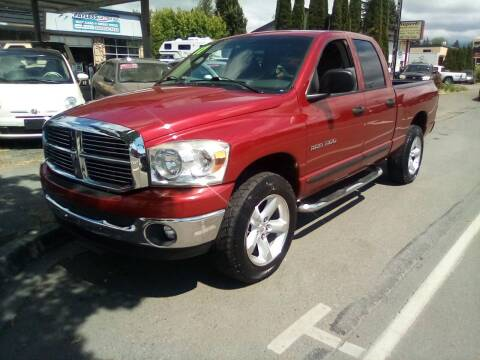 2007 Dodge Ram Pickup 1500 for sale at Payless Car & Truck Sales in Mount Vernon WA