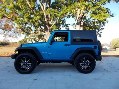 2010 Jeep Wrangler for sale at Mike's Auto Sales in Shelbyville TN