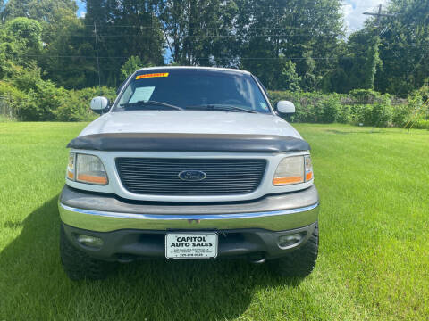 2002 Ford F-150 for sale at CAPITOL AUTO SALES LLC in Baton Rouge LA