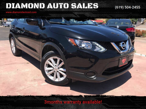 2017 Nissan Rogue Sport for sale at DIAMOND AUTO SALES in El Cajon CA