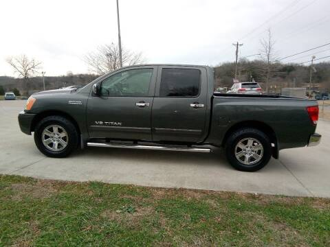 2012 Nissan Titan for sale at HIGHWAY 12 MOTORSPORTS in Nashville TN