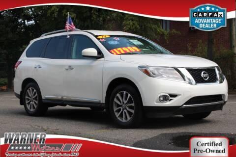 2014 Nissan Pathfinder for sale at Warner Motors in East Orange NJ