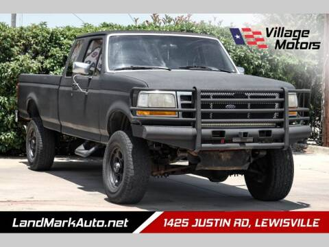 1997 Ford F-250 for sale at Village Motors in Lewisville TX