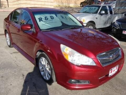 2012 Subaru Legacy for sale at R & D Motors in Austin TX