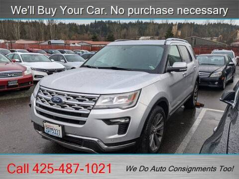 2018 Ford Explorer for sale at Platinum Autos in Woodinville WA