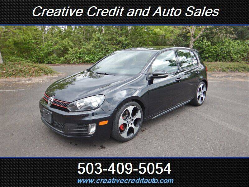 2012 Volkswagen GTI for sale at Creative Credit & Auto Sales in Salem OR