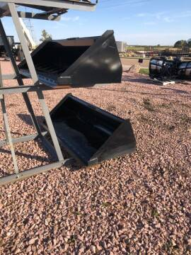 "2019 Midsota 78"" Material Bucket  for sale at Prairie Wind Trailers, LLC in Harrisburg SD"