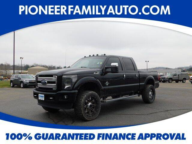 2015 Ford F-250 Super Duty for sale at Pioneer Family auto in Marietta OH
