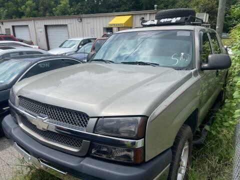 2003 Chevrolet Avalanche for sale at Noel Motors LLC in Griffin GA