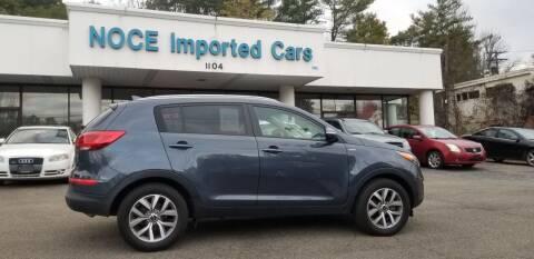 2015 Kia Sportage for sale at Carlo Noce Imported Cars INC in Vestal NY