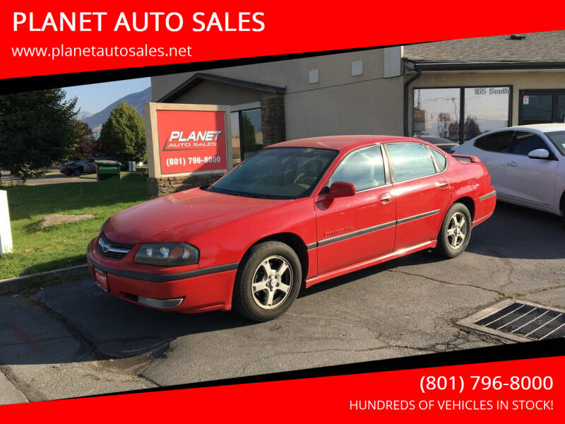 2003 Chevrolet Impala for sale at PLANET AUTO SALES in Lindon UT
