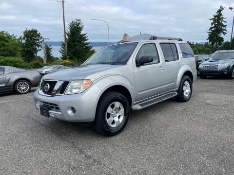 2010 Nissan Pathfinder for sale at KARMA AUTO SALES in Federal Way WA