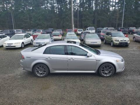 2007 Acura TL for sale at WILSON MOTORS in Spanaway WA