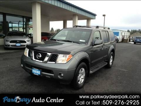 2007 Nissan Pathfinder for sale at PARKWAY AUTO CENTER AND RV in Deer Park WA