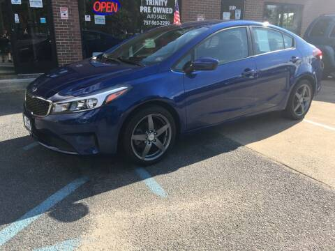 2017 Kia Forte for sale at Bankruptcy Car Financing in Norfolk VA