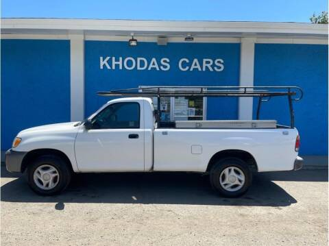 2004 Toyota Tundra for sale at Khodas Cars in Gilroy CA