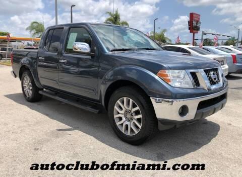 2013 Nissan Frontier for sale at AUTO CLUB OF MIAMI in Miami FL