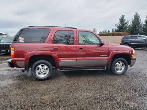 2003 Chevrolet Tahoe for sale at McMinnville Auto Sales LLC in Mcminnville OR