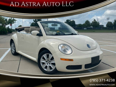 2009 Volkswagen New Beetle Convertible for sale at Ad Astra Auto LLC in Lawrence KS