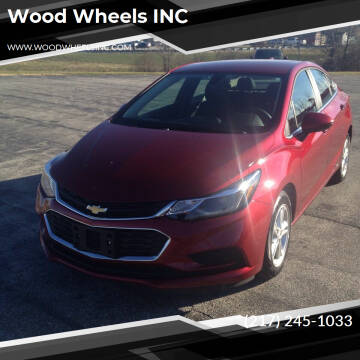 2018 Chevrolet Cruze for sale at Wood Wheels INC in Jacksonville IL
