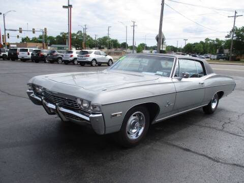 1968 Chevrolet Impala for sale at Windsor Auto Sales in Loves Park IL