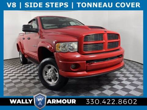 2004 Dodge Ram Pickup 2500 for sale at Wally Armour Chrysler Dodge Jeep Ram in Alliance OH