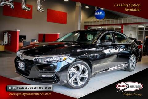 2018 Honda Accord for sale at Quality Auto Center in Springfield NJ