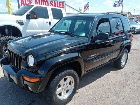 2002 Jeep Liberty for sale at ACE AUTO SALES in Lake Havasu City AZ