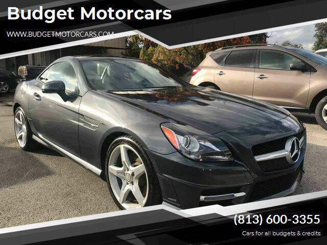 2012 Mercedes-Benz SLK for sale at Budget Motorcars in Tampa FL