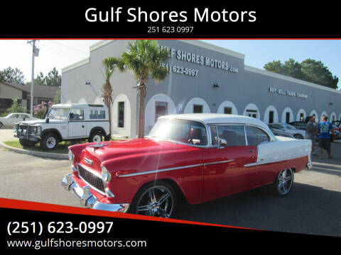1955 Chevrolet Bel Air for sale at Gulf Shores Motors in Gulf Shores AL