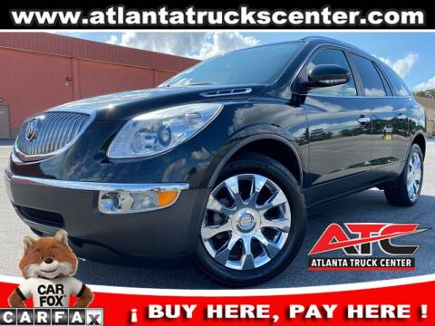 2012 Buick Enclave for sale at ATLANTA TRUCK CENTER LLC in Brookhaven GA