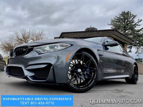2020 BMW M4 for sale at TJ Chapman Auto in Salt Lake City UT