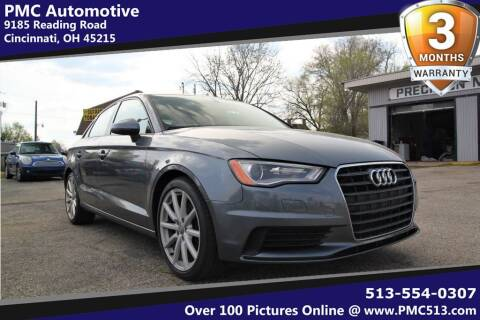 2015 Audi A3 for sale at PMC Automotive in Cincinnati OH