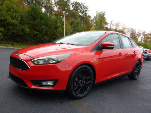 2016 Ford Focus for sale at RUSTY WALLACE KIA OF KNOXVILLE in Knoxville TN
