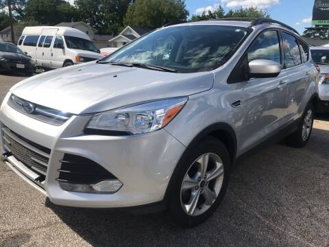 2015 Ford Escape for sale at GREENLIGHT AUTO SALES in Akron OH