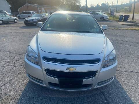 2012 Chevrolet Malibu for sale at YASSE'S AUTO SALES in Steelton PA