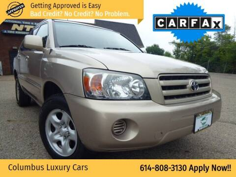 2007 Toyota Highlander for sale at Columbus Luxury Cars in Columbus OH