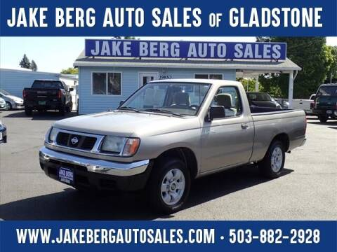 2000 Nissan Frontier for sale at Jake Berg Auto Sales in Gladstone OR
