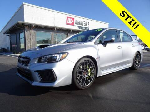 2019 Subaru WRX for sale at Wholesale Direct in Wilmington NC
