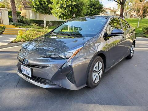 2018 Toyota Prius for sale at E MOTORCARS in Fullerton CA