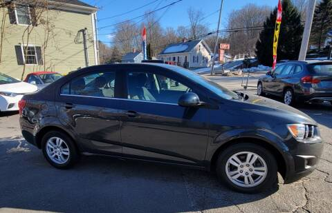 2015 Chevrolet Sonic for sale at Route 44 Auto Sales in Greenville RI