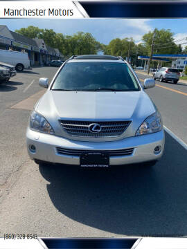 2008 Lexus RX 400h for sale at Manchester Motors in Manchester CT