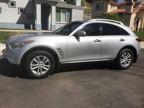 2009 Infiniti FX35 for sale at CALIFORNIA AUTO GROUP in San Diego CA