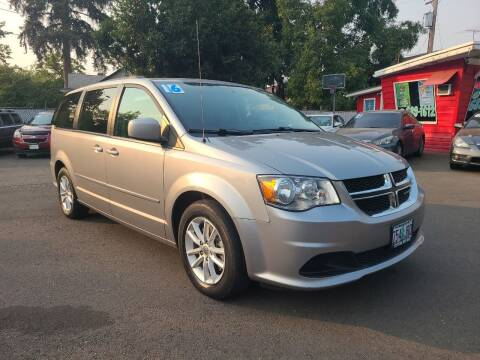 2016 Dodge Grand Caravan for sale at Universal Auto Sales in Salem OR