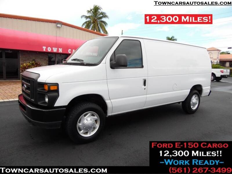 2011 Ford E-150 for sale at Town Cars Auto Sales in West Palm Beach FL